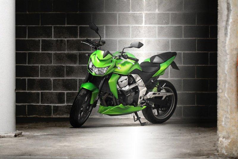 bike-in-garage