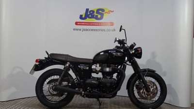 Image of Triumph Bonneville T120 Black