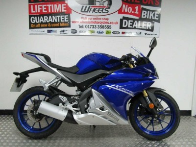 Image of Yamaha YZF R125 ABS