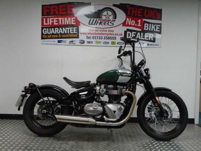 Image of Triumph Bonneville Bobber