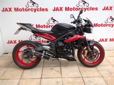 Image of Triumph Street Triple RX