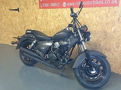 Image of Keeway Superlight 125cc Matt Black