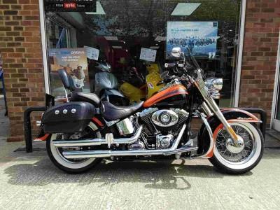 Image of Harley-Davidson Flstn ST Deluxe 1690
