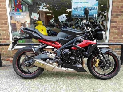 Image of Triumph Street Triple R ABS