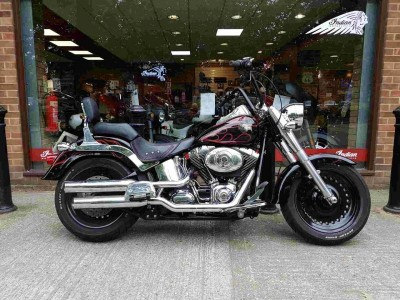 Image of Harley-Davidson Flstf FAT BOY