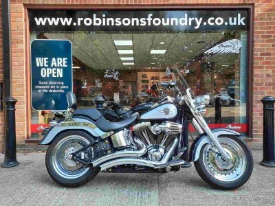 Image of Harley-Davidson Flstf Fatboy 1690 12