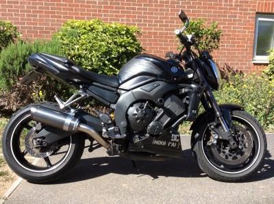 Image of **2007 (07) Yamaha FZ 1 N** Black - MOT - Clean - 2 Owners - OHLINS Rear Shock