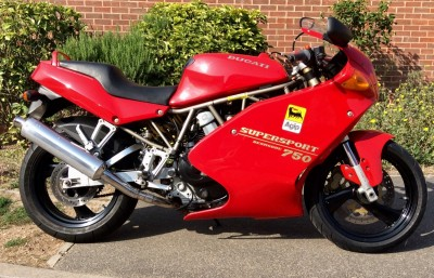 Image of **Rare** 1993 (K)  Ducati  750ss Supersport - Red - V-Twin