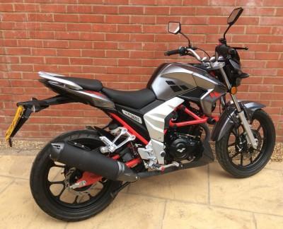 Image of 2020 (20) Lexmoto Venom Learner Legal 125cc Grey Like New Fully Serviced