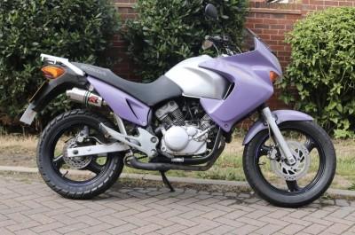 Image of 2006 (06) Honda Varadero XL125V Learner Legal Adventure Bike MOT Extras New Chain