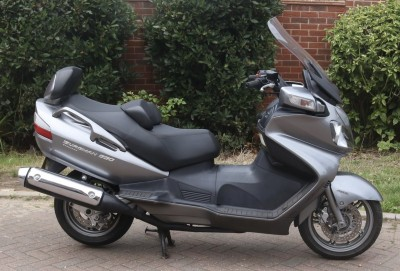 Image of 2009 (59) Suzuki AN650 (K9) Burgman Executive Silver ABS Low Miles Clean with History